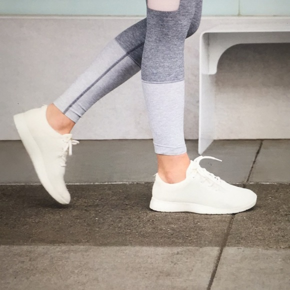 White Wool Runners Womens